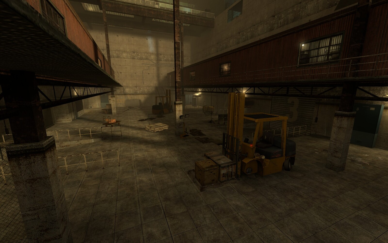 Verticality was a key feature in the level and way used in an engaging way to make the level fun to traverse.