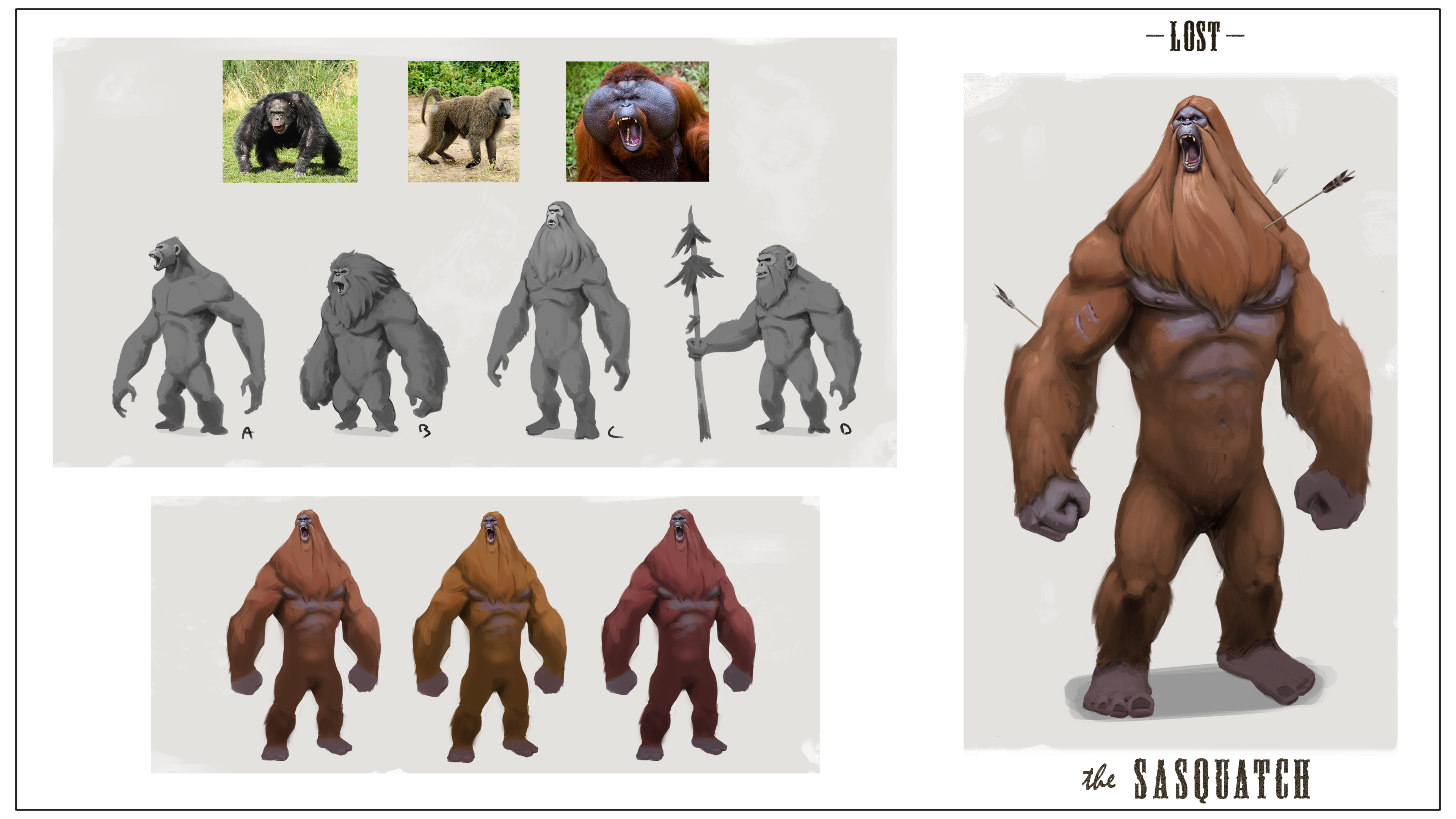 Sasquatch process