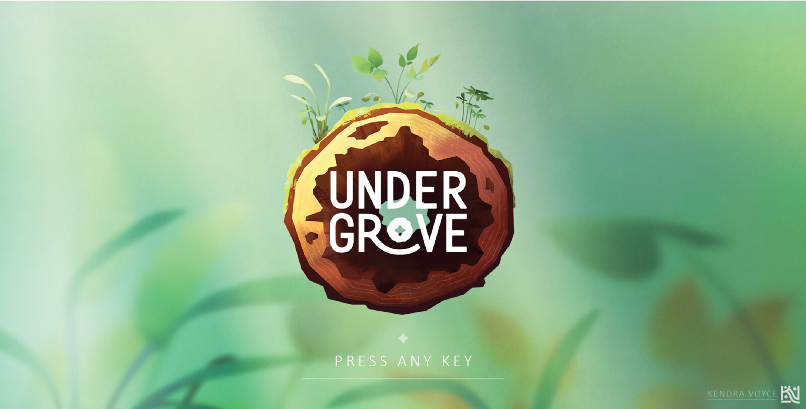 Undergrove | Game Logo Design