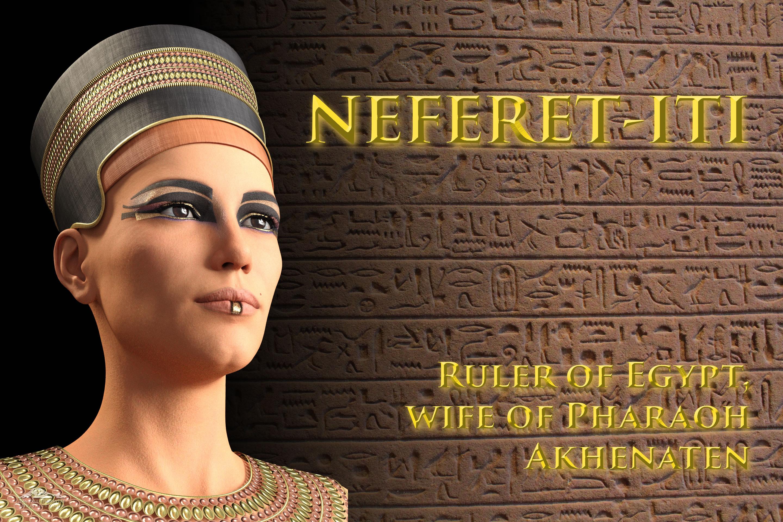 Neferet-iti, poster 2 background photo by Tanapat Jangtrakul