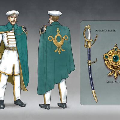 Sam carr leon callahan military dress 3
