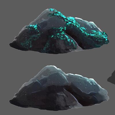 Luant s artworks rocas conceptart