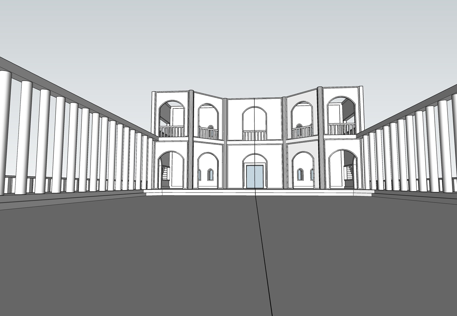 SketchUp Model - Full Spread