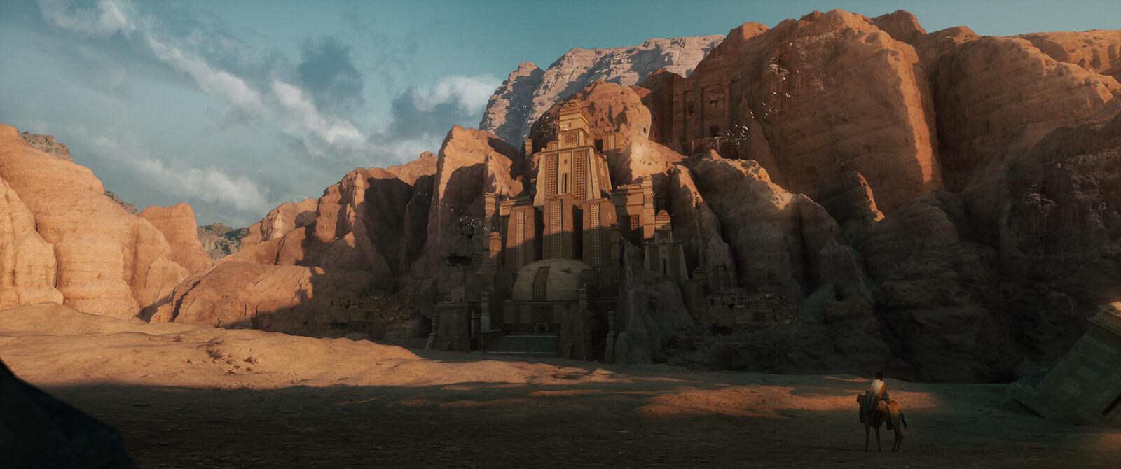 Ruins, Concept practice.