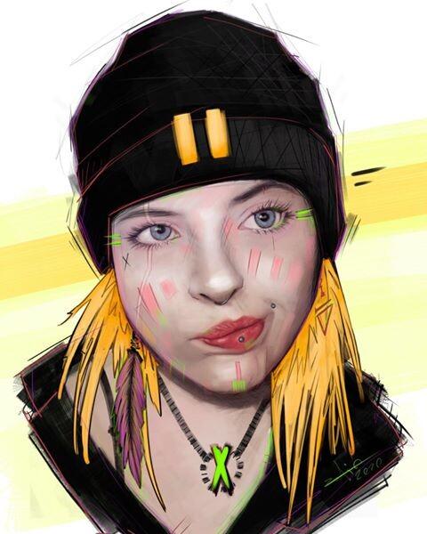 STREET GIRL - Yanna