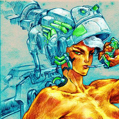 Atom cyber cyberjuice 2
