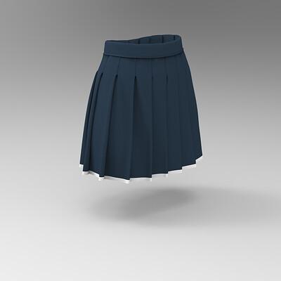Alisahan yalcin pleated skirt 85