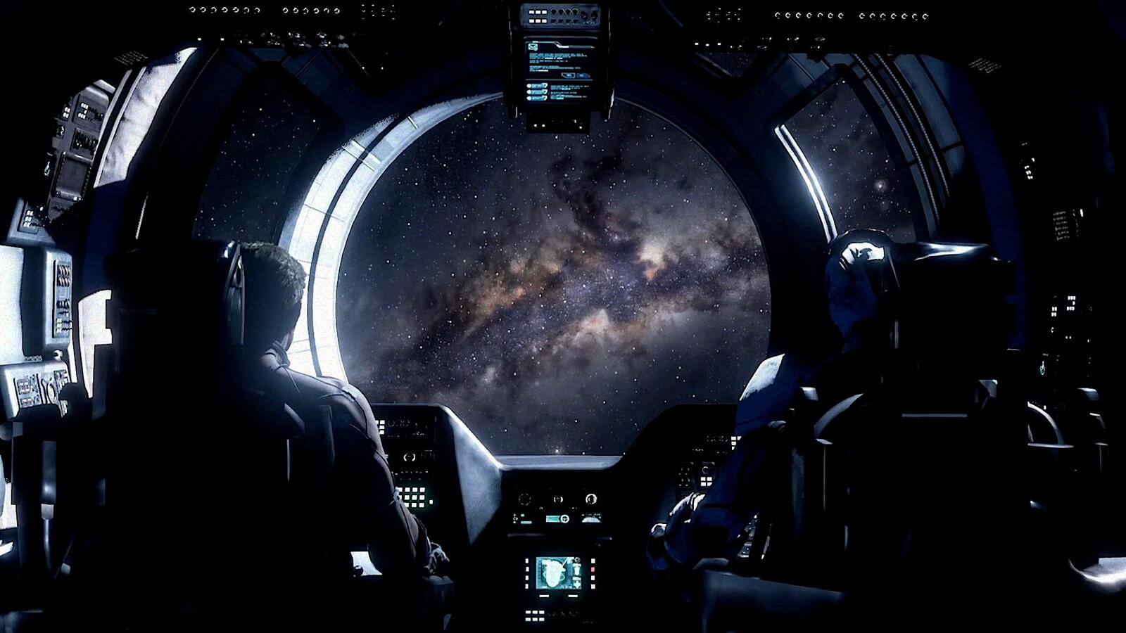 Spaceship: Modeling / Texturing