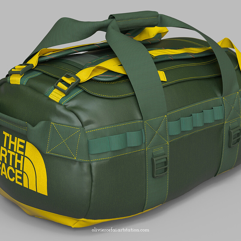3D Fashion Case Study - The North Face Bag