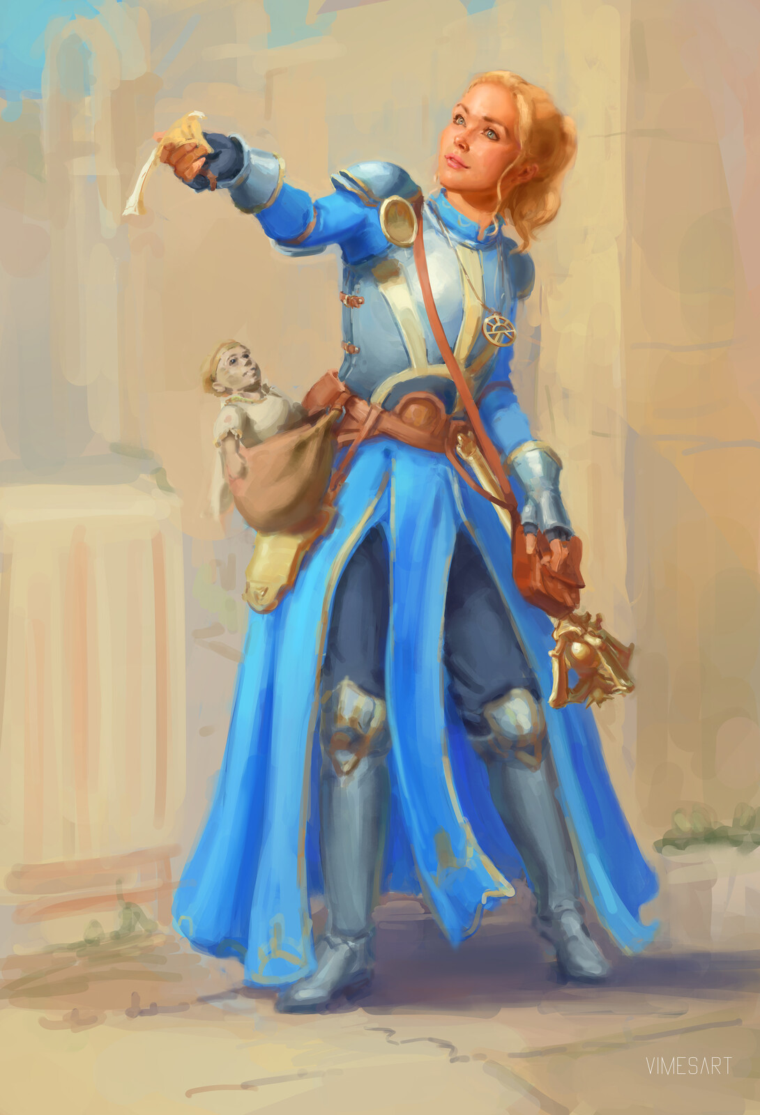 Daisy life cleric