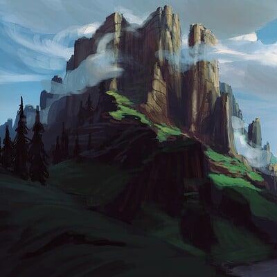 Philipp a urlich philipp urlich landscape painting process