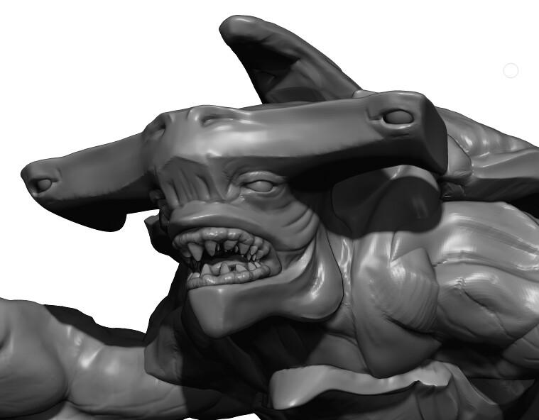 Head Zbrush Sculpt