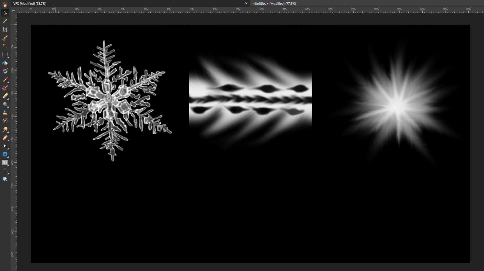New Textures made for this projectile in affinity photo
