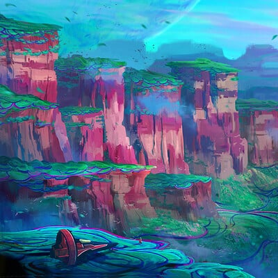 Anh le looking into grand canyon environment copy
