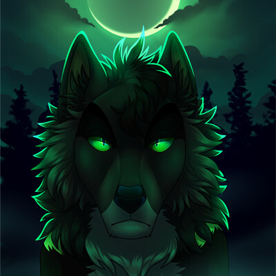 Kingsley wolf amon moonlight