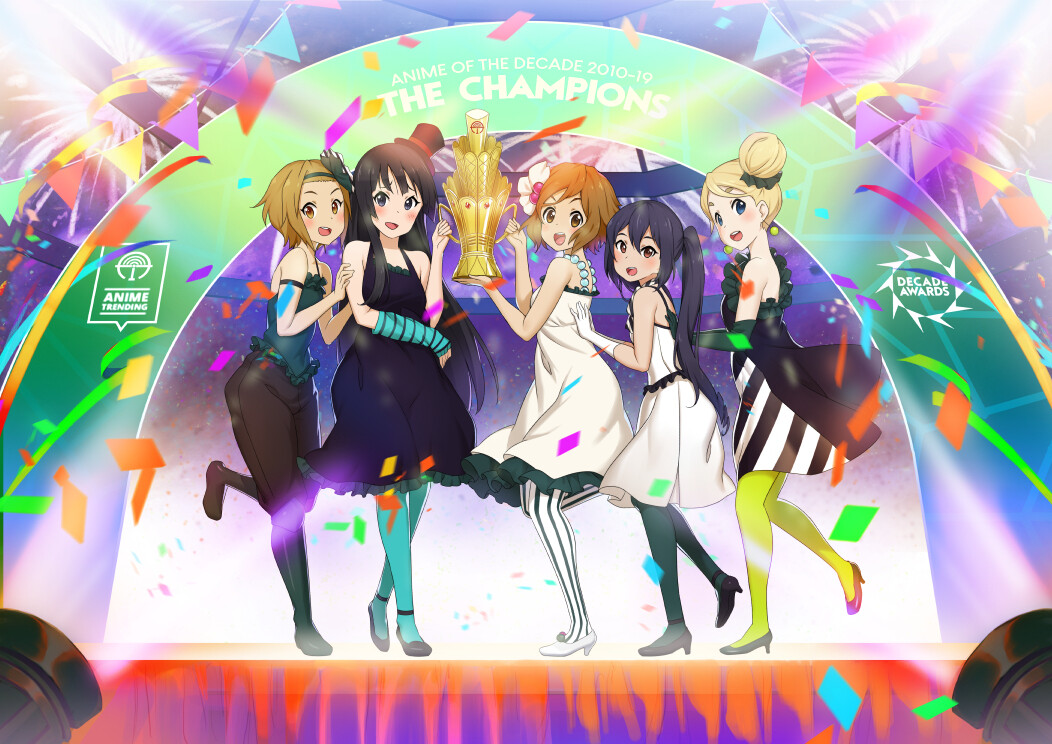 K-ON is the champion