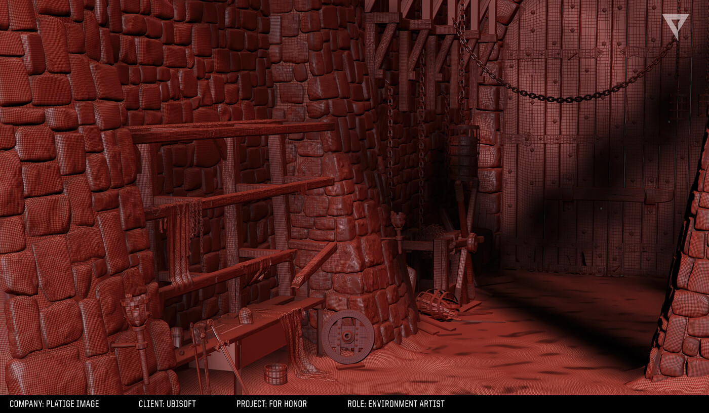Armory Interior- Mesh