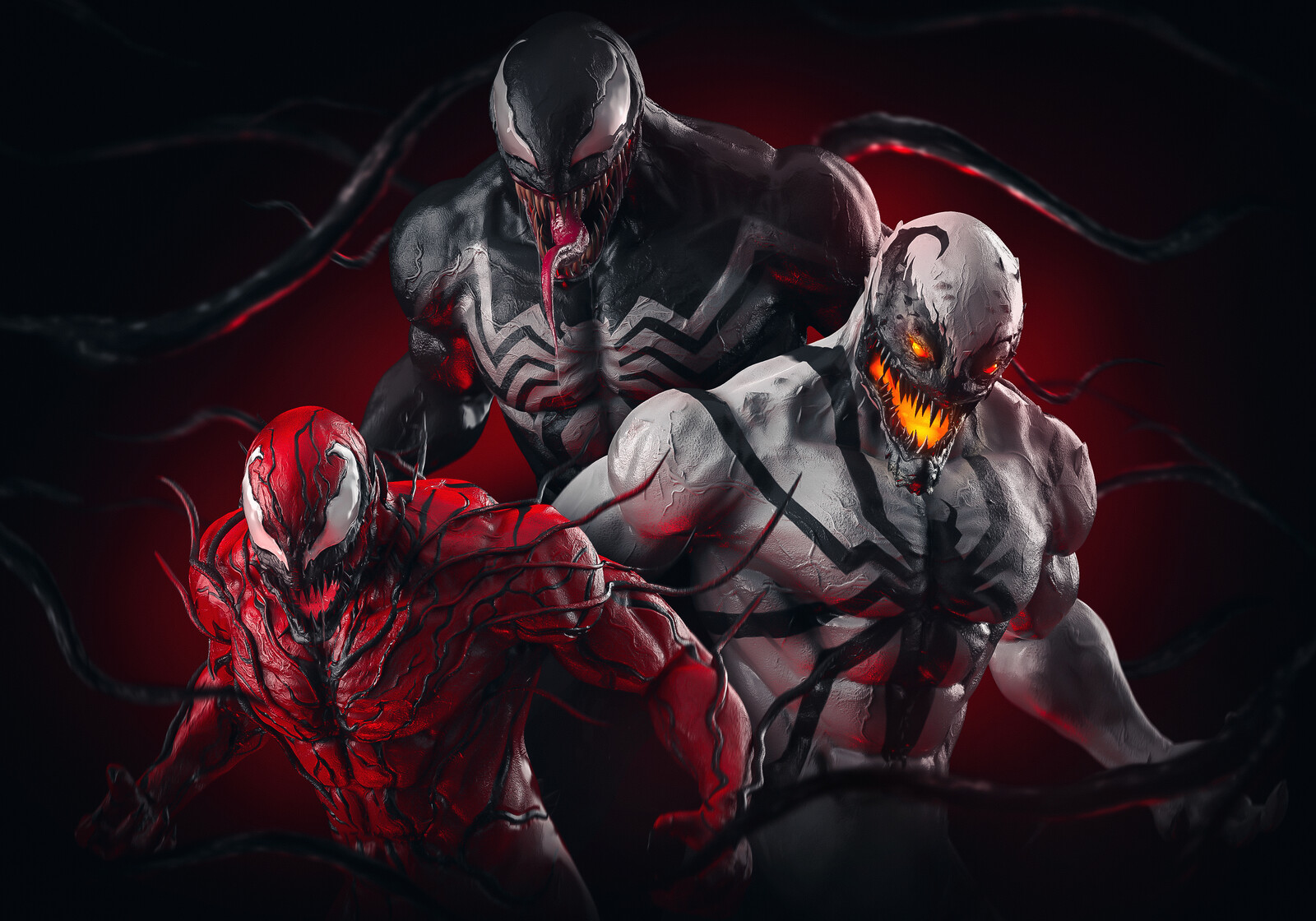 Venom X Carnage X AntiVenom