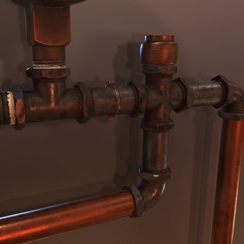 Modular Pipes - (Horror Corridor)