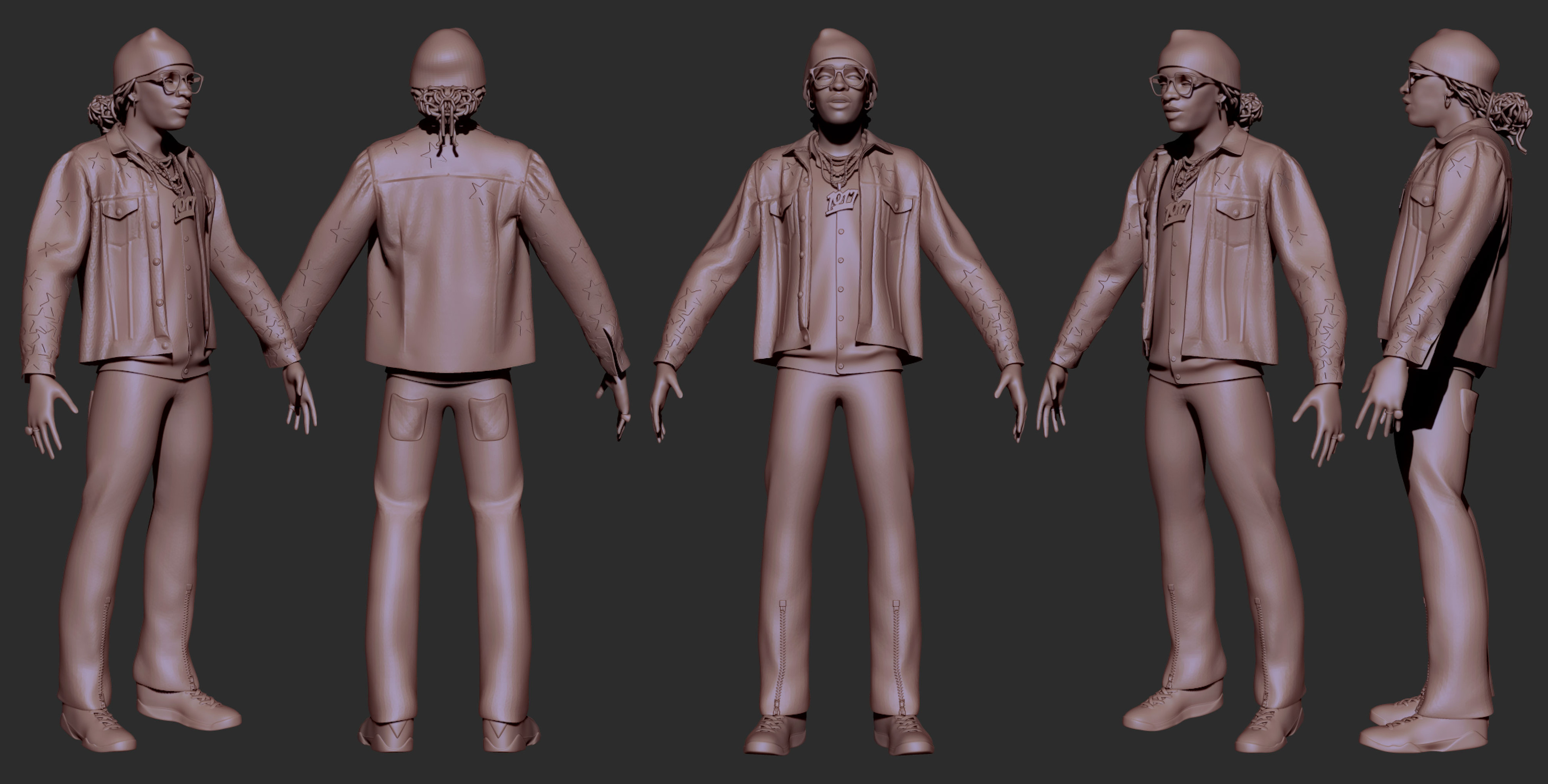 Young Thug - Sculpt (wip)