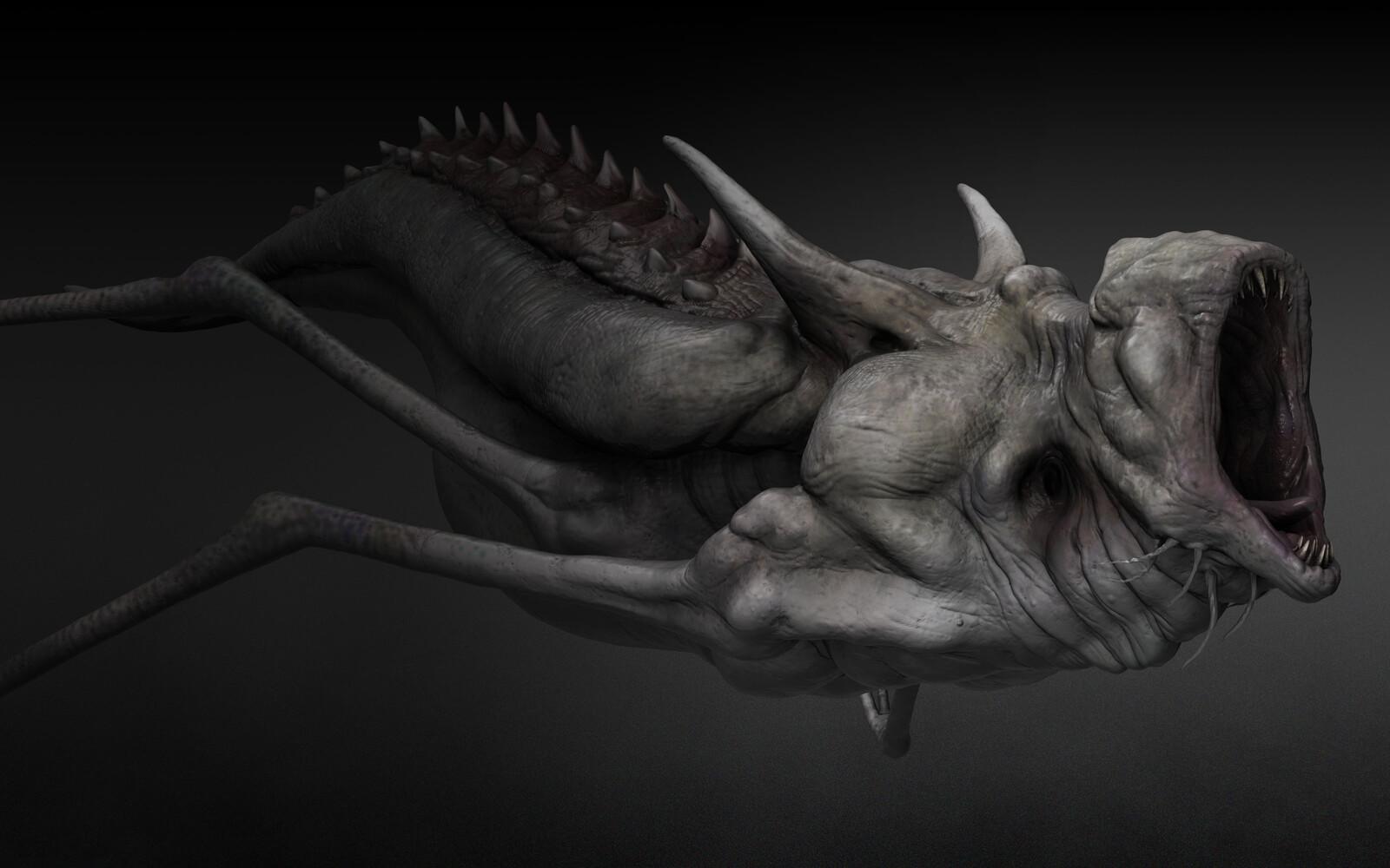 Alien Concept sculpts
