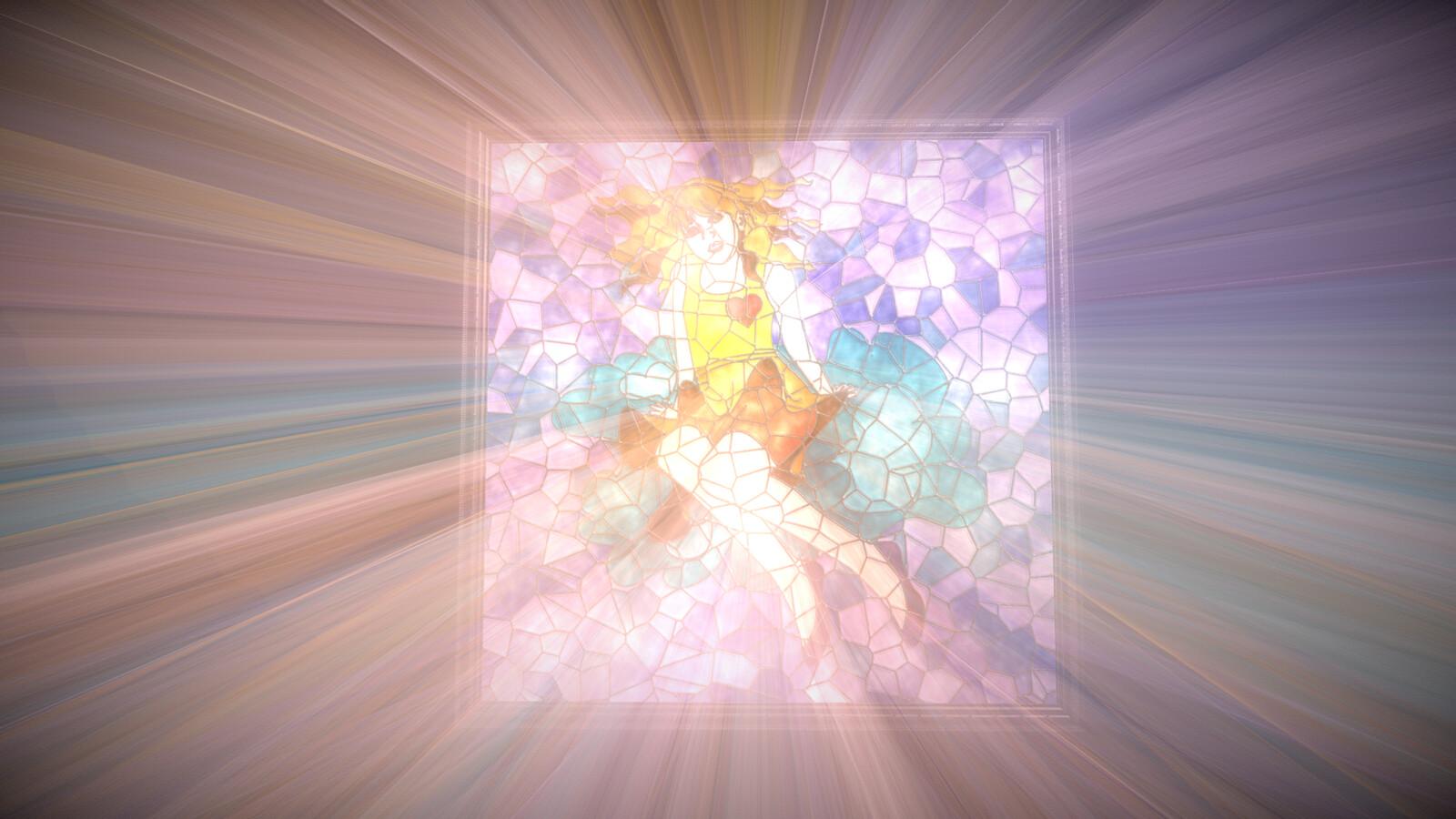 Fake Volumetric Light - Framed