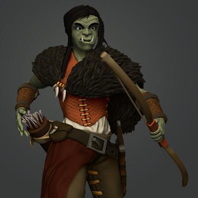 Half Orc Ranger