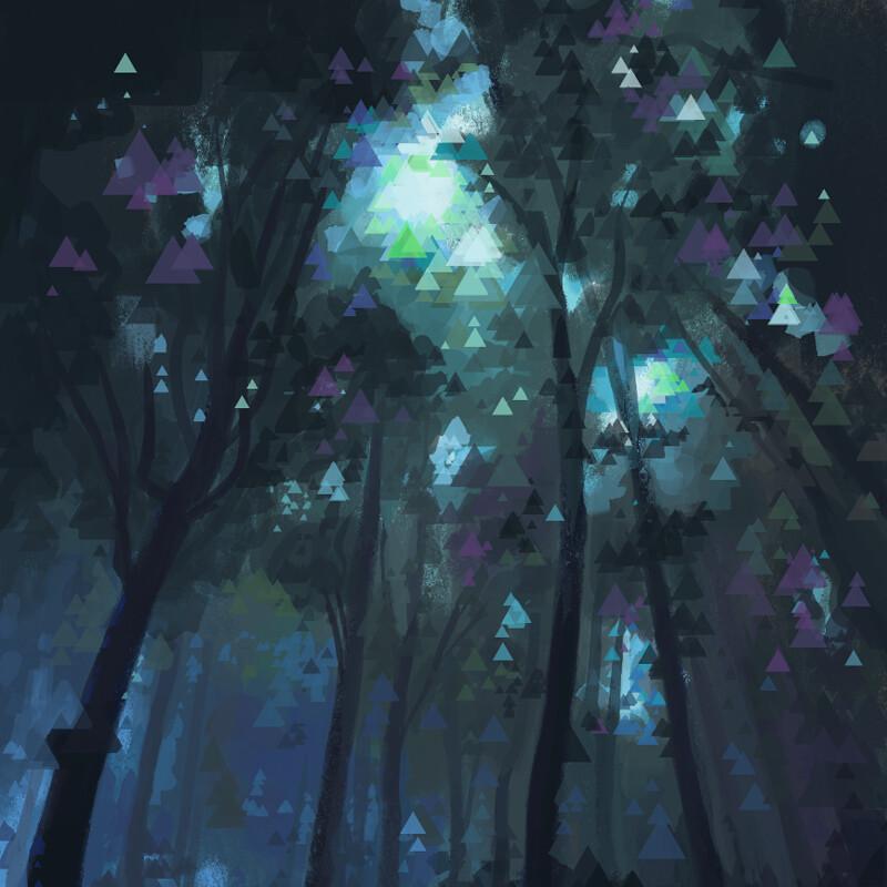 Studies 2 - Forest