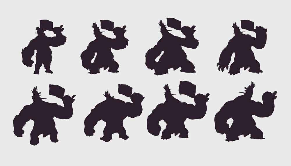 concepts -silhouette variants