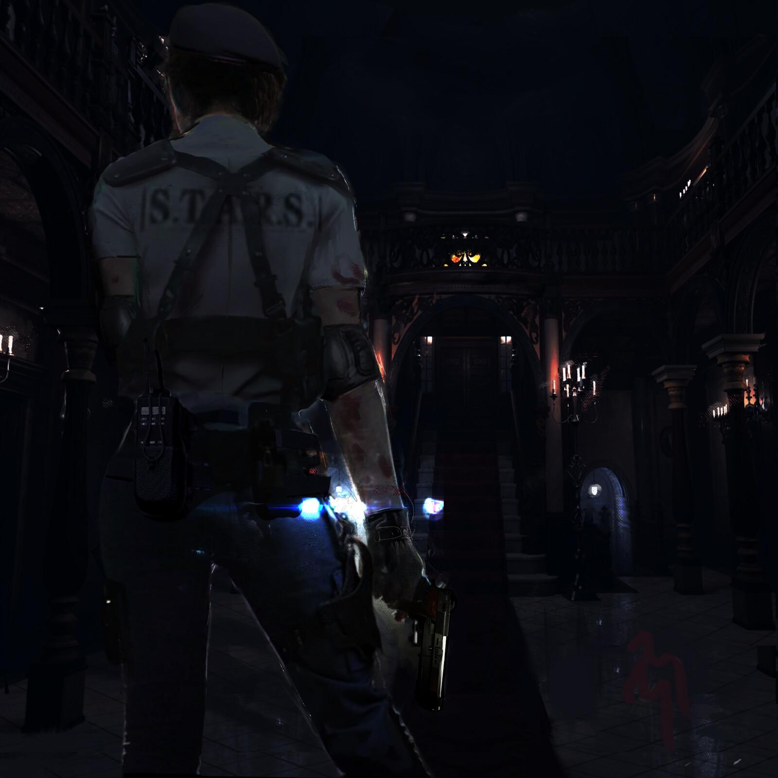 Resident Evil: I almost drew a Jill sandwich!
