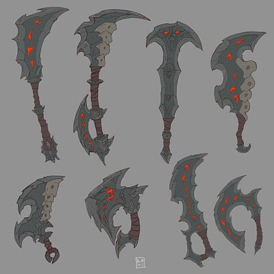Darksiders Weapons Part 2/ fan concepts
