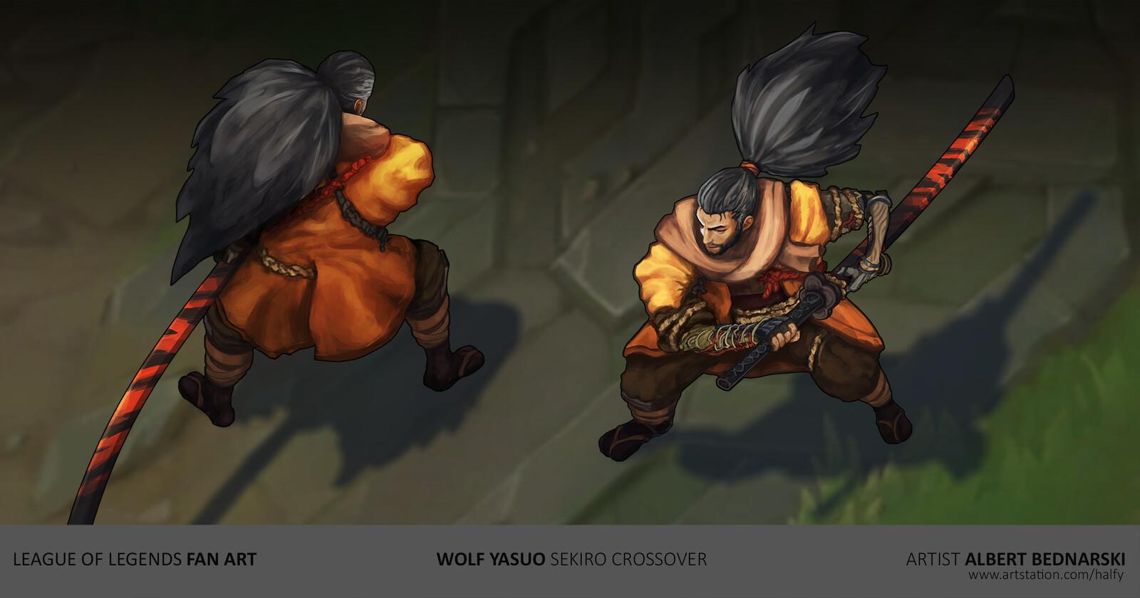 Wolf Yasuo | Sekiro - League of Legends | fan skin concept