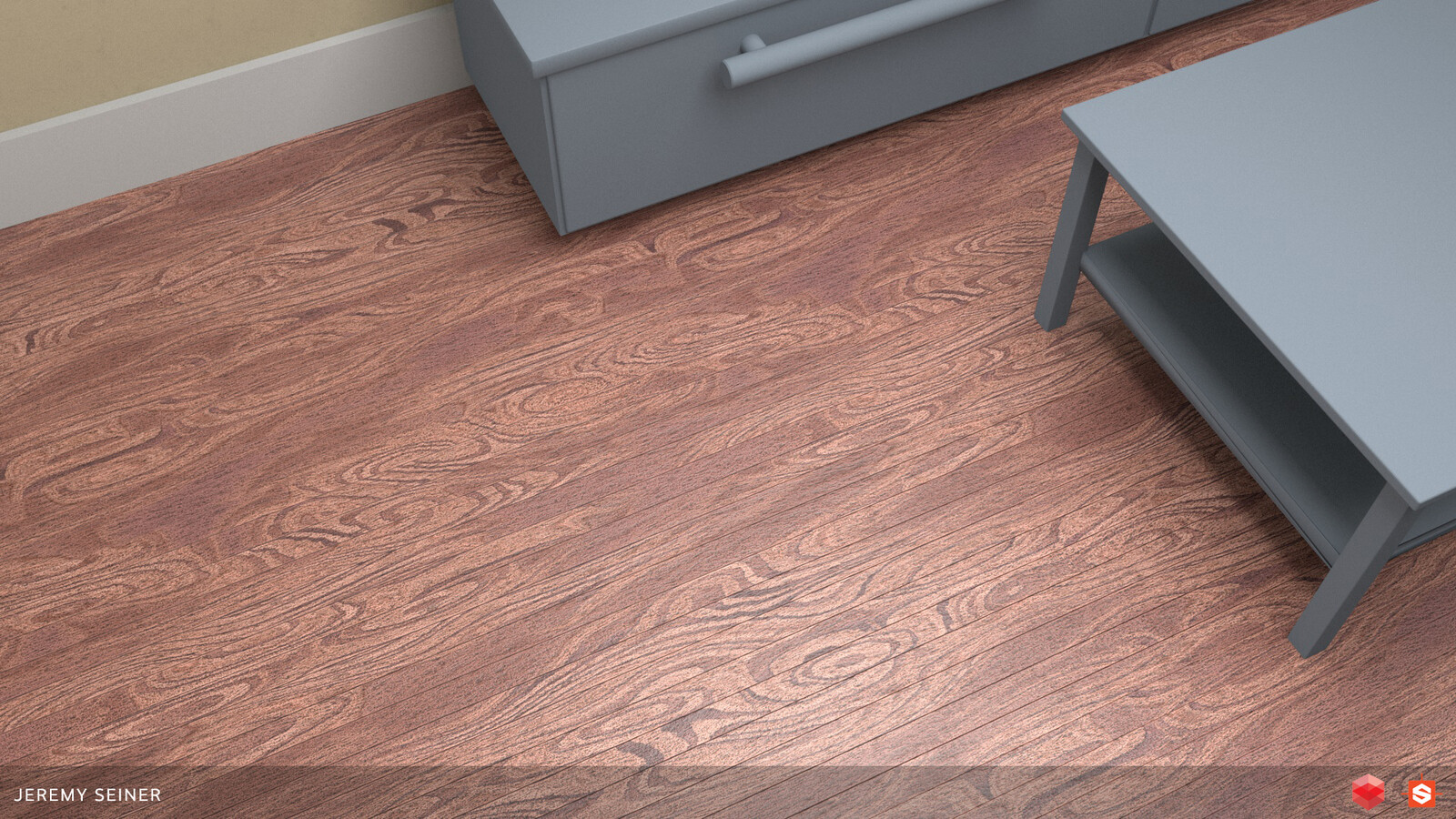 Example of basic wood floor.