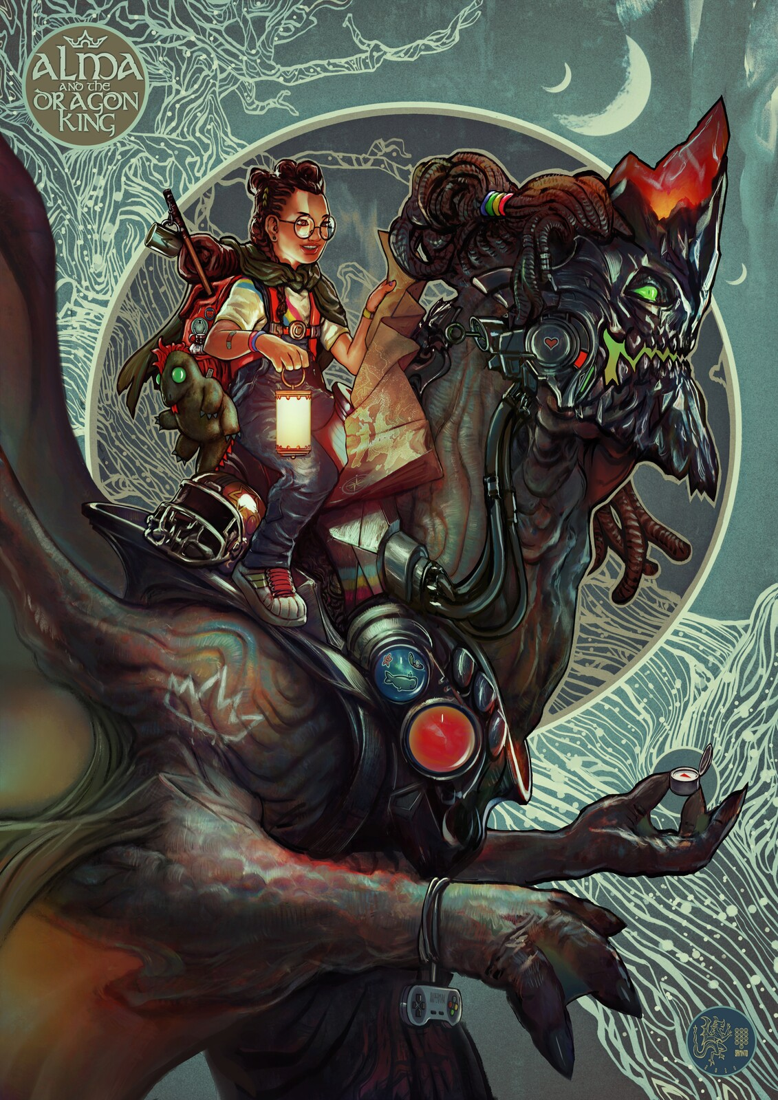 Alma and the Dragon King (Retro MaxPack promo piece)