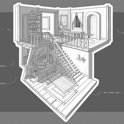 Jacob tonellato alchemist interior perspective