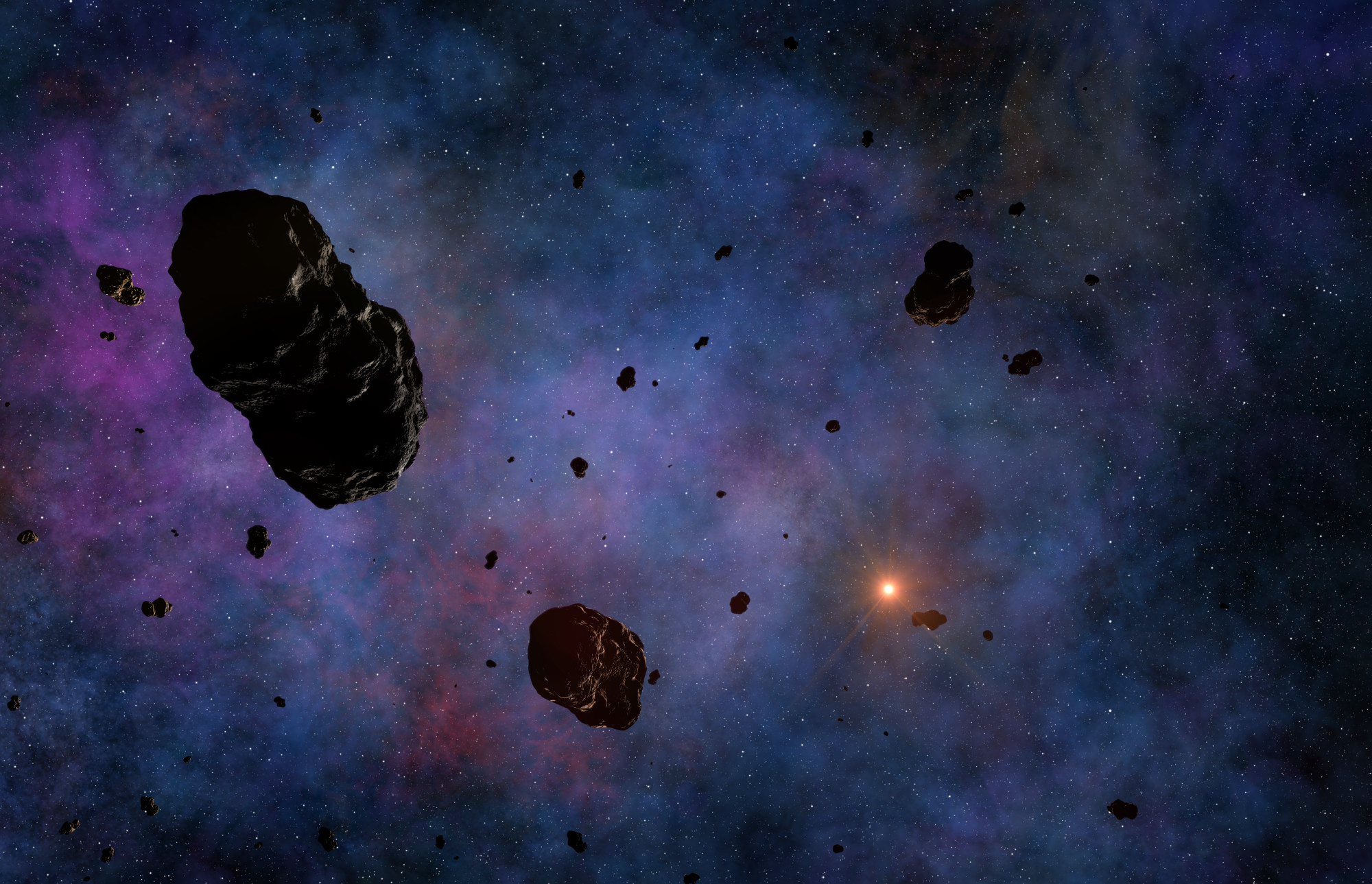 Kuiper Belt objects.