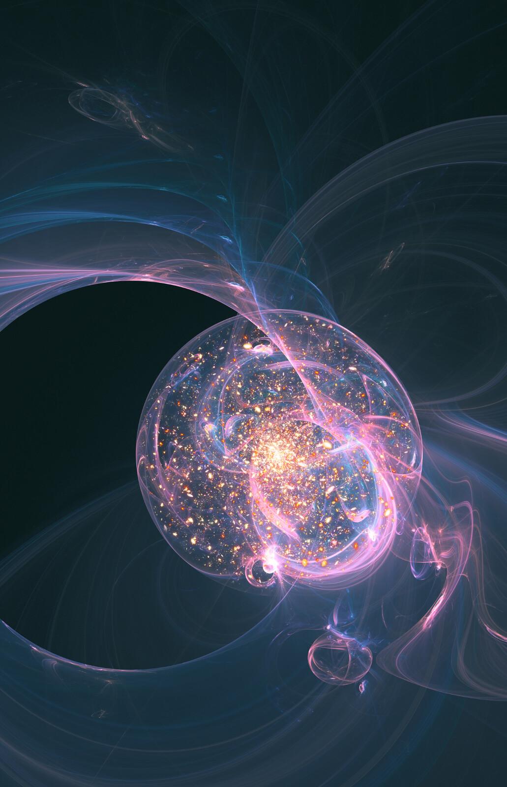 Bubble universe.