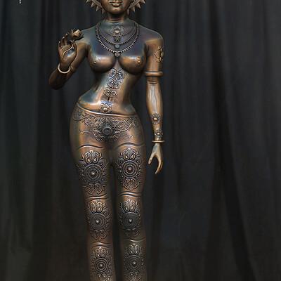 Surajit sen devi digital sculpture surajitsen sept2020aa