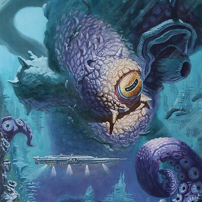 Andre mata twenty thousand leagues under the sea by andre mata