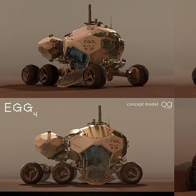 Arnaud caubel egg rover conceptmodel arnocob