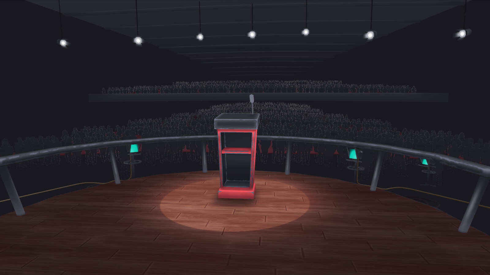 Podium Arena (Red)