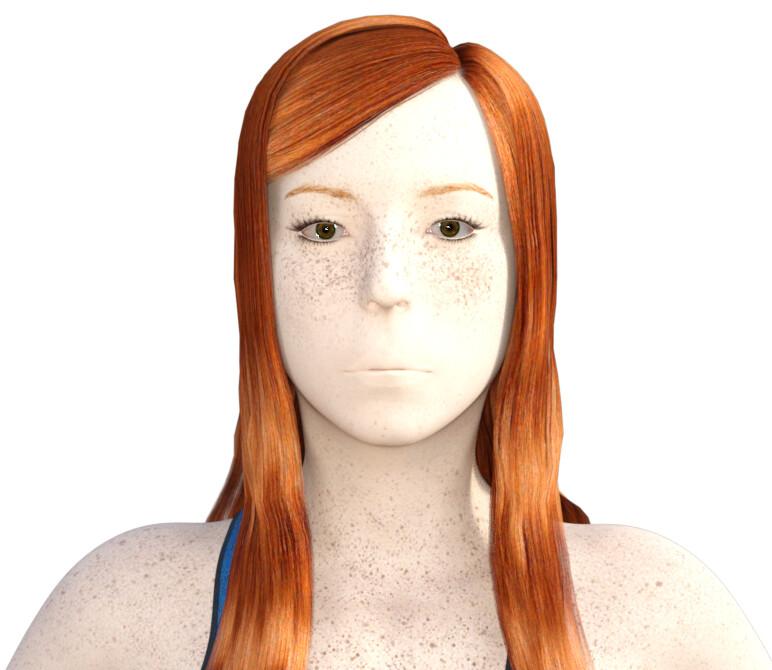 MoniGarr 3D Digital Human