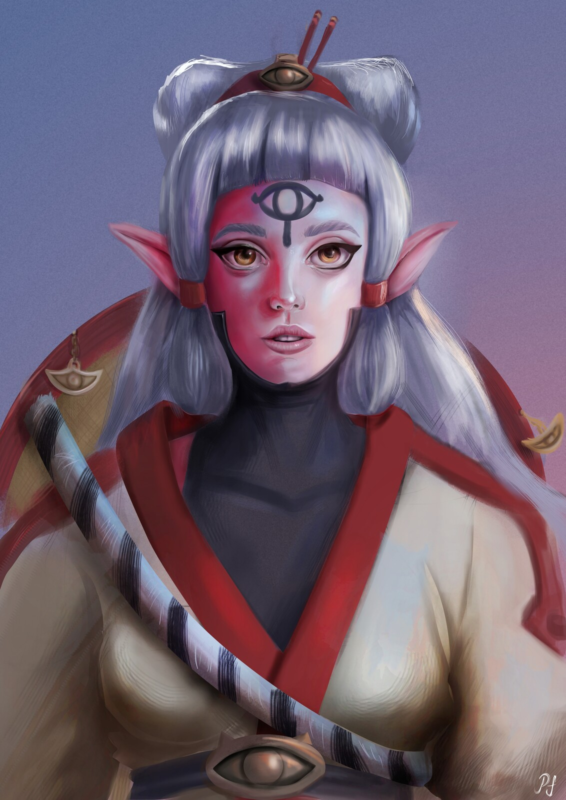 Artstation Young Impa Hyrule Warriors Age Of Calamity Pablo Fernandes