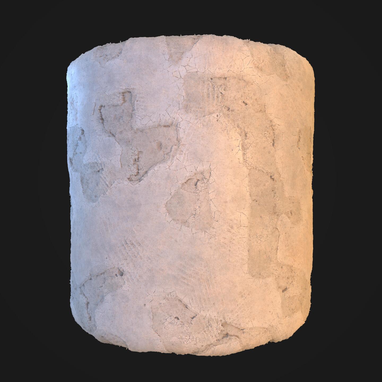 Old Broken Plaster