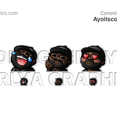 Aerlya graphics sample ayoitscourtney emotes
