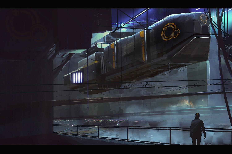 Original Concept Art by Markus Lovadina