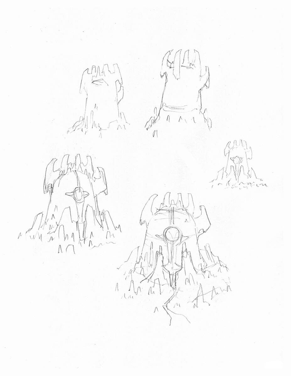 Roughs - 8.5x11 Copy Paper, 2B Lead