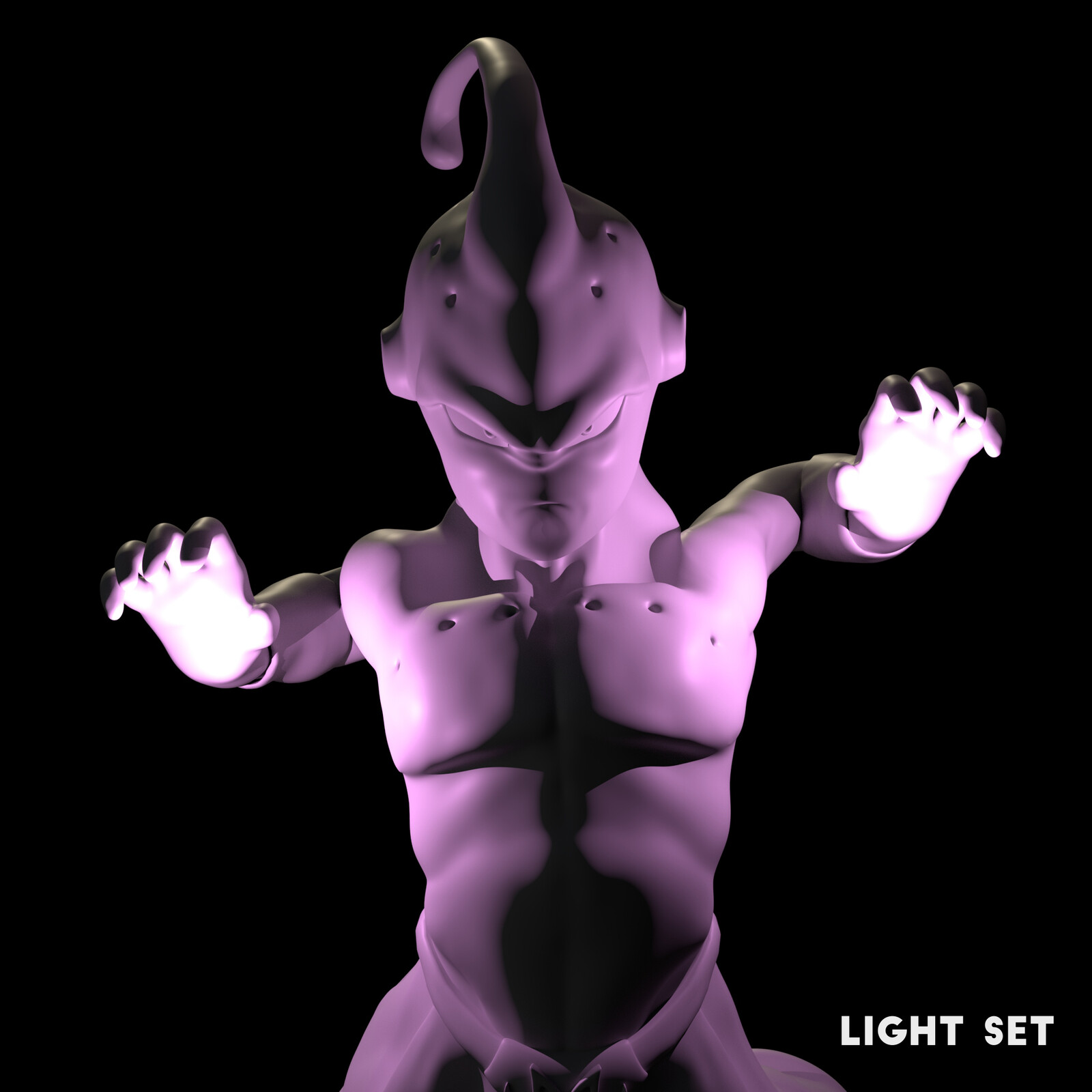 Light Set used in the Render