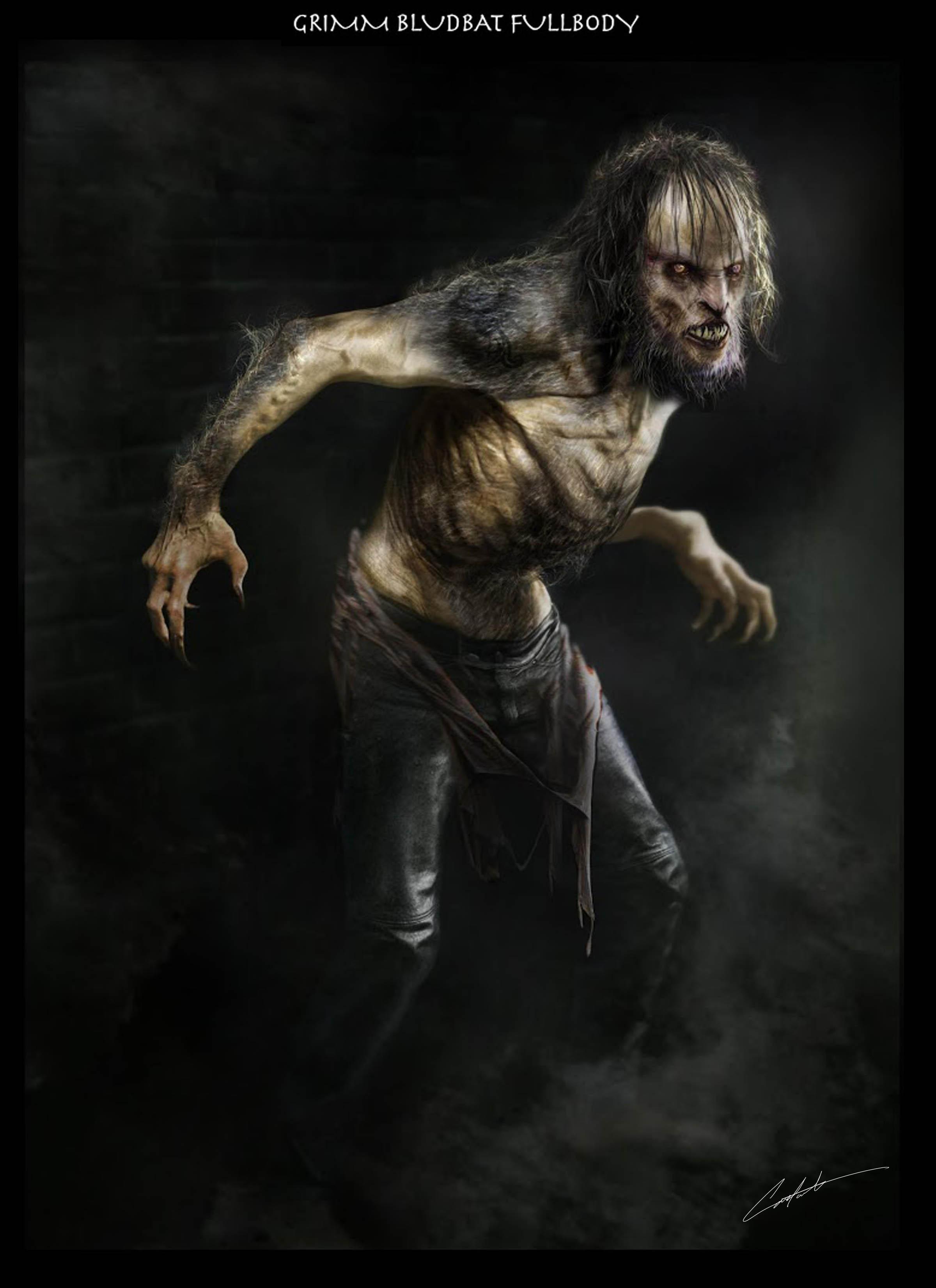 Grimm Bludbat werewolf