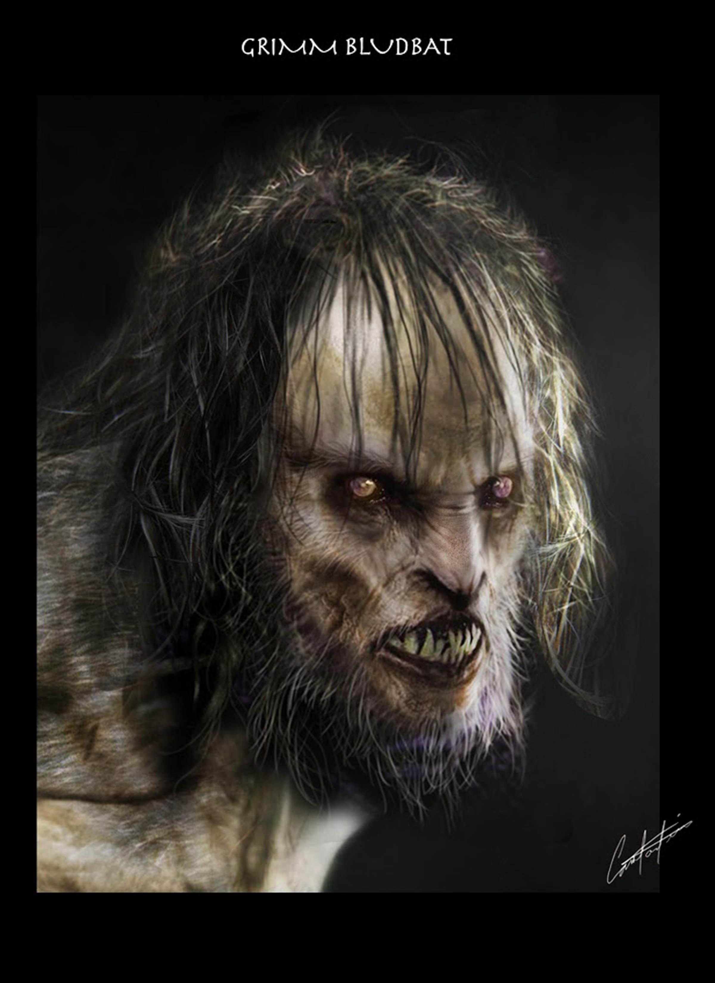 Grimm Bludbat werwolf
